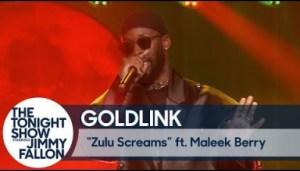 "Goldlink & Maleek Berry Perform ""zulu Screams"" Live On The Tonight Show"